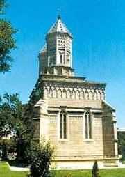 Sfintii Trei Ierarhi - biserica din aur