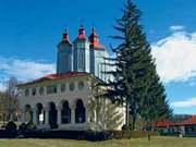 Manastirea Ciolanu - tapsanul cu rugaciune