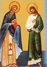 Aflarea Sfintelor Moaste ale Sfintilor Epictet si Astion