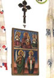 Colectia de icoane pe sticla din Sibiel