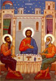 Euharistia in aratarea lui Hristos la Emaus