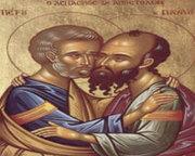 Sfintii Apostoli Petru si Pavel dupa Faptele Apostolilor
