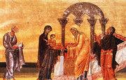 Intampinarea Domnului in iconografie