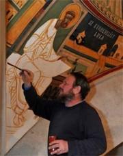 Ce se picteaza intr-o biserica ortodoxa?