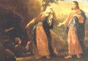Maria Magdalena la mormant