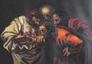 Iisus se arata Apostolilor impreuna cu Toma