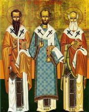 Sfintii Trei Ierarhi: Vasile, Grigorie si Ioan