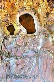 Icoana Maicii Domnului de la Manastirea Dalhauti - Anufiana