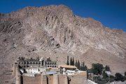 Pelerin la Manastirea Sfanta Ecaterina din Sinai