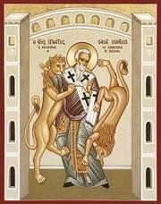 Sfantul Mucenic Ignatie, purtatorul de Dumnezeu-Teoforul