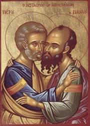 Petru si Pavel – Postul Sfintilor Apostoli Petru si Pavel
