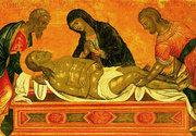 Ungerea lui Hristos, anticipare a mortii Sale