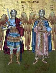 Prezenta Sfintilor Ingeri in spatiul liturgic