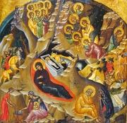 Ce reprezentam in icoana Nasterii Domnului?
