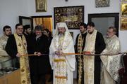 Inaugurarea primul muzeu parohial din Bucuresti