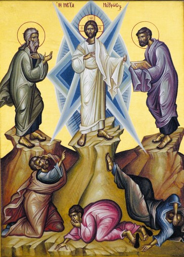transfiguration of our lord and savior jesus christ